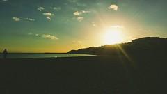 Sunset on Albufeira beach (niknak2016) Tags: beach sandybeach sky sunset nature outdoors portugal coast brightsun coastline coastal shoreline shore sun sundown landscape sunscape beachphotography beauty naturalbeauty naturephotography sunsetphotography coastalphotography seaphotography seascape sea outside