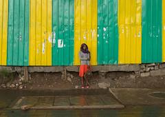 Woman looking for shelter under the rain, Addis abeba region, Addis ababa, Ethiopia (Eric Lafforgue) Tags: africa street city people woman color green rain yellow horizontal bag outdoors women locals dress adult african rainy colourful ethiopia addisababa oneperson hornofafrica ethiopian eastafrica thiopien etiopia abyssinia urbanscene ethiopie etiopa addisabeba  etiopija 1people ethiopi  ethnicgroup etiopien etipia  etiyopya          addisabebaregion ethio163116