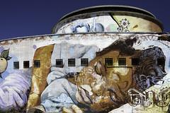 Mirage (Raggedjack1) Tags: streetart painting sevilla mural busstation estaciondeautobuses