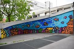Ocean Reef (HBA_JIJO) Tags: urban streetart france art wall painting graffiti spray peinture mur murale vitry vitrysurseine bombeaerosol paris94 hbajijo alloyiusmcilwaineart