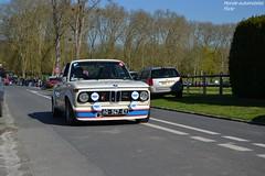 BMW 2002 Turbo 1974 (Monde-Auto) Tags: auto 2002 france automobile tour course turbo bmw blanche courances comptition