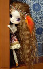 Hi? I'm Carlota... (Erla Morgan) Tags: cute little dal chips wig groove carlota junplanning dallizbel lizbel erlamorgan