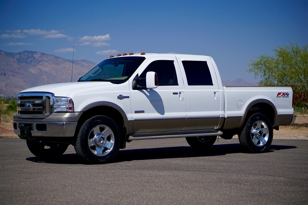 2006 ford f250 king ranch 4x4 diesel truck for sale. Black Bedroom Furniture Sets. Home Design Ideas