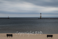 Michigan_North-0434.jpg (CitizenOfSeoul) Tags: usa lighthouse beach sand michigan may lakemichigan greatlakes shore northamerica whitefishpoint 2016