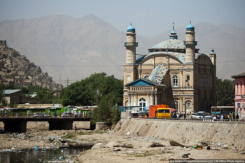 The mosque in Kabul