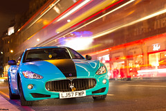 Maserati Granturismo (F14BigAl) Tags: london cars turquoise mc maserati stradale supercars granturismo f14bigal