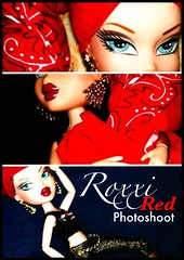 Roxxi- Red Photoshoot (Bratz Guy) Tags: girls red fashion photography dolls mga bratz roxxi bratzparty