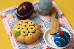 Miam Miam No. 2 (Fig & Me) Tags: toys natural felting handmade patisserie needle playfood figandme
