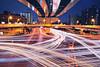 River of light (y2-hiro) Tags: city light night nikon exposure traffic osaka rays d3s