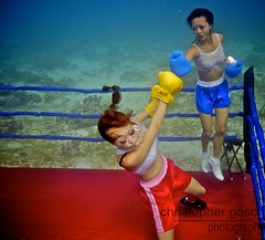 UW-ChineseBoxing 28 (steadichris) Tags: underwater models chinese scuba lingerie cebu boxing breathhold