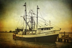 Rebecca Mary (Sunset Sailor) Tags: ocean sea port harbor fishing marine maritime nautical trawler fv vessell dragger rebeccamary