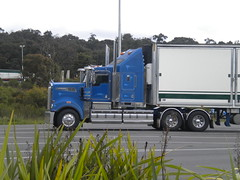MR Kenworth T904 (KW BOY) Tags: b tractor truck river prime highway transport australian double semi truckstop lorry rig hauling produce express trailer bp murray hume conventional mover trucking kw bulk kenworth haulage 2011 t904