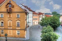 Biking in Prague (Fil.ippo) Tags: prague praha praga bicicletta cike biking city architecture architettura città hdr filippo d5000 viaggi filippobianchi