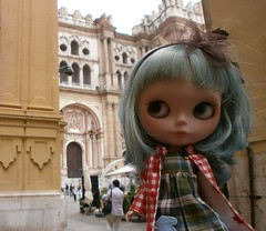 ADAD 172/275, Geo arriving to Malaga's Cathedral