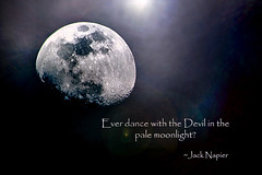 """Ever dance with the Devil in the pale moonlight?"" (David E Finol) Tags: moon pentax luna batman timburton k20d jacknapier davidfinol"