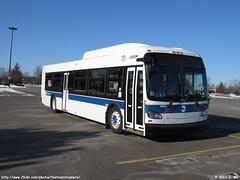 MTA - New York City Bus 4849 (TheTransitCamera) Tags: new york city bus minnesota flyer shiny diesel authority transit delivery mn metropolitan eagan 2011 xd40 xcelsior mta4849