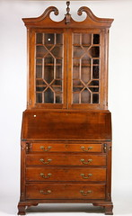 52. Chippendale Secretary Bookcase