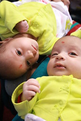 Twins (-gunjan) Tags: portrait baby twins infant newborn fraternal gmphotography