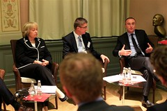 """Conférence à Berlin avec la Ministre allemande de l'Intégration et le vice-président du groupe CDU au Bundestag - novembre 2011 • <a style=""""font-size:0.8em;"""" href=""""http://www.flickr.com/photos/70502024@N04/6517299285/"""" target=""""_blank"""">View on Flickr</a>"""