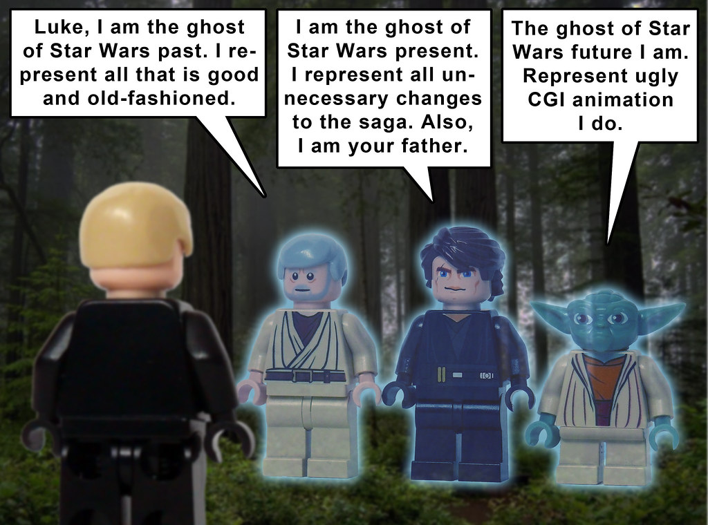 The world 39 s best photos by oky space ranger flickr - Lego star wars anakin ghost ...