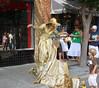 Golden Girl (NYRGTO) Tags: street asheville streetperformer goldengirl bellechere zs3
