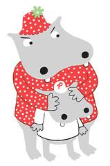 Mama (Greg Pizzoli) Tags: illustration silkscreen pizzoli