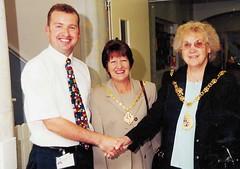 Simon Langford, Canterbury Ward with Mayor (Voices Through Corridors) Tags: mayor ward manor