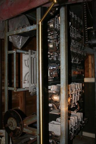 Vintage electromechanical elevator controller