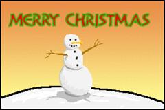 Animated Snowman (MitchRJ81) Tags: christmas snowman animation gif