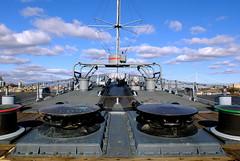 Battleship New Jersey Forecastle (Ameture-Photog) Tags: new fuji nj jersey battleship x10 forcastle