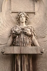 Angel (butisitartphoto) Tags: sculpture cemetery grave statue angel sleepy latin hollow sleepyhollow