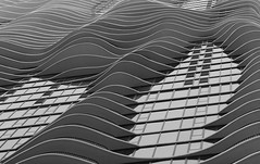 Rippling Facade (Paul Aparicio) Tags: chicago building architecture facade apartment balcony condo studiogang aquatower