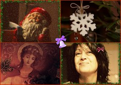 I wish to All of You my Flickr Friends, A Wonderful New Year 2012, full of Health, Light, Understanding,Luck, Happiness and LOVE, (always!),Much LOVE !!!   And many many Beautiful photos!  Kisses! (Teteel) Tags: santa snowflake new me collage angel year wishes 2012