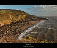 Barcloy Hill (.Brian Kerr Photography.) Tags: light seascape beach rocks castlepoint dumfriesandgalloway rockcliffe lagmucksands