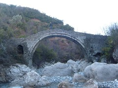 Ancient bridge at Zezes stream  Photo