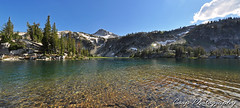 Beautiful Afternoon At Mirror Lake - Pano (Coop Photography) Tags: two mountain lake oregon river lens photography mirror nikon eagle 26 or north lakes fork august basin east tokina trail cap 25 valley coop pan 28 wilderness 27 f28 2011 d90 lostine 1116mm