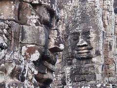 Bayon background focus (Angkor Wat, Cambodia 2011) (paularps) Tags: travel holiday nature vakantie asia cambodia flickr khmer culture olympus angkorwat temples siem reap leisure placesofworship angkor 2012 pagodas reizen flickrcom destinations 2011 vakantiefotos adventuretravel arps asiantemples paularps epl1 olympusepl1