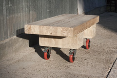 Glulam Table (Patrick M Burnham) Tags: table beam coffeetable casters glulam industrialfurniturehandmadeindustrialdesigndesignfurnituredesignwoodworkingcraft