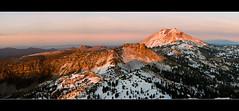 Mt. Lassen from Brokeoff Mountain (Tim T Photography) Tags: california panorama mountain nature landscape 50mm nikon d200 northern lassen mountainscape brokeoff lassennationalpark