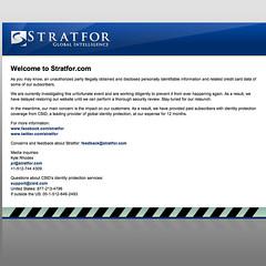 STRATFOR (20120105)