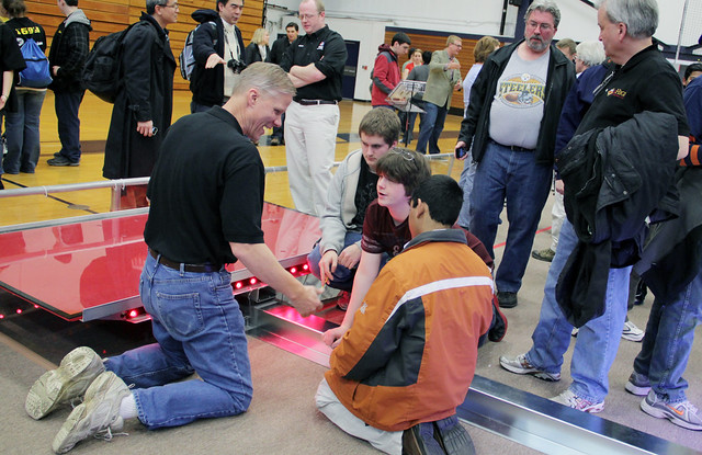 FRC Kickoff 2012 - On the Floor