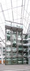 Munich airport by Helmut Jahn (B Coleman) Tags: panorama architecture modern germany munich airport terminal architect helmut jahn ptgui