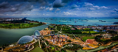 Singapore's sea of boat (Teo Morabito) Tags: