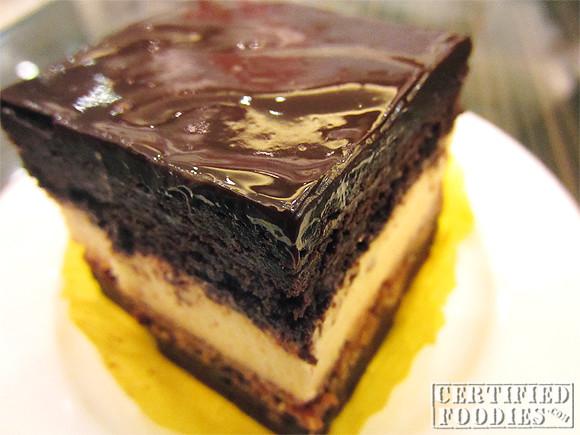 Triple Decker Chocolate Cheesecake from Kusina Torre