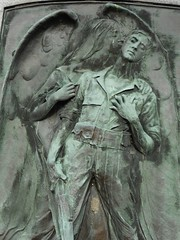 Kiss of Death (Mr. Ducke) Tags: cemetery bronze relief ww1 greatwar