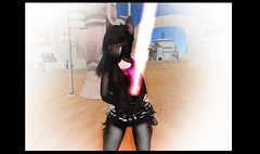Dark side kitten (-Lithie) Tags: life old blue cat dark star starwars furry mod kitten republic mesh avatar side siamese sl galaxy secondlife second lightsaber wars tor sith anthro tatooine tokushi swtor
