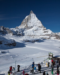 Matterhorn, View from Trockener Steg Ski Run, Swiss Alps (x_tan) Tags: switzerland matterhorn swissalps trockenersteg canoneos5dmarkii