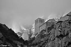 Montserrat - 16 /B/N) (Pep Companyó - Barraló) Tags: de des montserrat blanc negre bages llobregat josep baix laeri companyo barralo laparcament