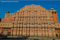 0645 FACADE DU PALAIS DES VENTS (jean pierre floch) Tags: india temple tajmahal palais pushkar rajasthan forteresse inde mosqué templee