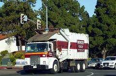 Edco Grabage Truck (Photo Nut 2011) Tags: california trash garbage junk sandiego waste refuse sanitation garbagetruck 410 trashtruck ranchobernardo wastedisposal edco